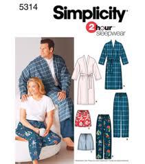 simplicity pattern 5314 women u0027s u0026 men u0027s sleepwear xl xxxl joann