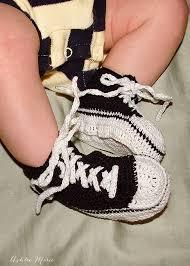thread crochet baby converse pattern free ashlee marie