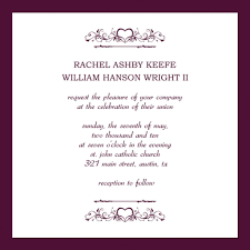 Wedding Announcement Templates Wedding Invitations Templates Free Dancemomsinfo Com