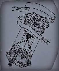 24 best hourglass tattoo drawings images on pinterest hourglass