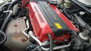 mitsubishi lancer jdm mitsubishi lancer evo 4 complete engine minus turbo 4g63 jdm jdm