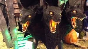 spirit halloween new jersey cerberus at halloween store youtube