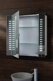 galactic illuminated led bathroom mirror cabinet my furniture com au