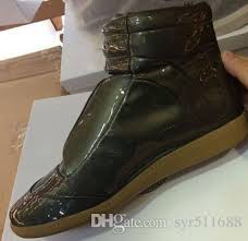 Most Comfortable Ankle Boots Cheap New Design High Top Autumn Ankle Boots Maison Martin