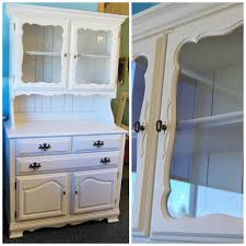 image of painted china cabinet how to painted china cabinet