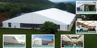 Tent Building Temporary Warehouse Mining And Aviation Shelters
