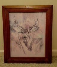 home interiors deer picture homco buck ebay