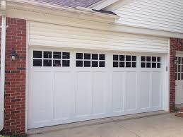 Overhead Door Company Cedar Rapids by C H I Overhead Doors Model 5983 Steel Carriage House Style Garage
