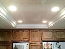 Led Kitchen Ceiling Lights Recessed Led Kitchen Ceiling Lights Replacing Fluorescent Kitchen