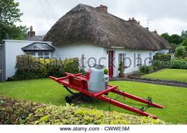 Thatched Cottage Ireland by Front Of Irish Cottage Adare Village Ireland Stock Photo Royalty