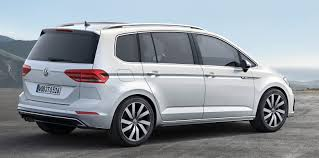 volkswagen touran mpv unveiled ahead of geneva