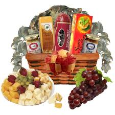 cheese gift baskets savory meat and cheese gift basket