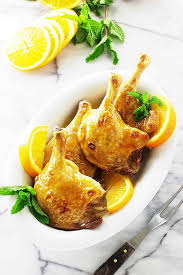 Best Color With Orange Roasted Duck Legs With Orange Sauce And Wild Rice Savor The Best