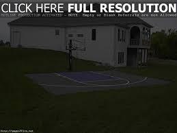 backyard basketball court ideas home outdoor decoration