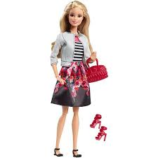 barbie style doll stripes u0026 flowers dhd85 barbie