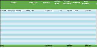 Debt Spreadsheet 5 Simple Steps For How To Get Out Of Debt Follow Along With Our Guide