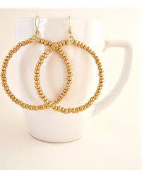 vire earrings deal on metallic gold hoop earrings memory wire earrings