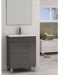 24 White Bathroom Vanity by Bargains On Eviva Cup 24 Inch Grey Modern Bathroom Vanity With
