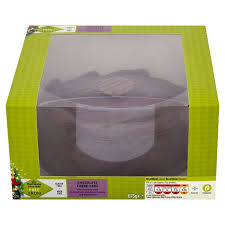 Christmas Cake Decorations Morrisons by Morrisons Morrisons Free From Chocolate Christmas Cake 678g