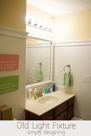 How To Install Bathroom Light Fixture - install a new bathroom light fixture
