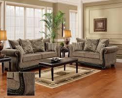 Traditional Living Room Sofas Java Chenille Sofa Seat Living Room Furniture Set