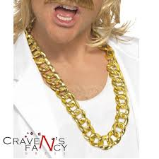 chunky gold necklace fashion images Chunky gold chain necklace gangster lemon mr t rapper bling ba jpg