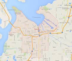 Map Of Sw Usa by Tacoma Washington Map