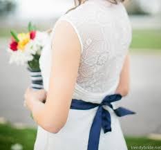 Nautical Theme Dress - nautical themed wedding shoot in beaufort trendy bride magazine