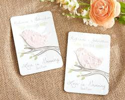 seed cards luxury seed paper wedding invitations for bird personalized