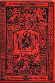 the scarlet letter antique book cover magnet u2013 the marble faun