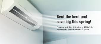 ductless mini split daikin save 300 on a daikin ductless a c system with delta delta air