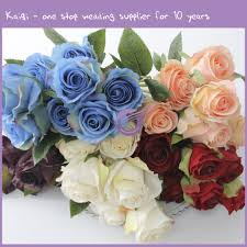 artificial flowers wholesale wholesale artificial flower bud 9 18291 kaiqi wedding