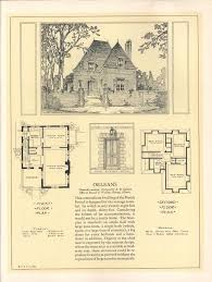 Storybook Cottage House Plans 2369 Best 1800 U0027s 1940 U0027s House Plans Images On Pinterest Vintage
