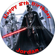 wars edible image wars edible personalised birthday cake topper
