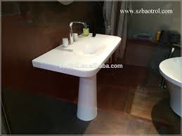 Solid Surface Vanity Tops For Bathrooms by Most Popular Artificial Marble Basin Shape Bathroom Wash Basins