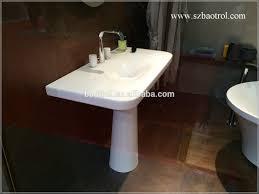 Solid Surface Vanity Tops Most Popular Artificial Marble Basin Shape Bathroom Wash Basins