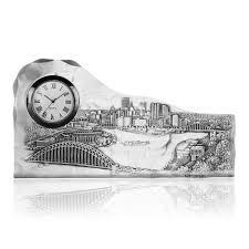 pittsburgh skyline clock wendell august