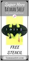 Diy Superhero Room Decor Diy Batman Shelf Tamara U0027s Joy