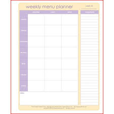 day planner template indesign weekly food menu template dcbuscharter co