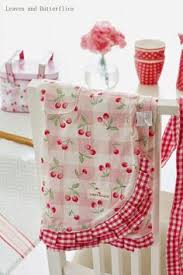 Cherry Kitchen Curtains Need To Make The Whole Set Cherry Apron Aprons Pinterest