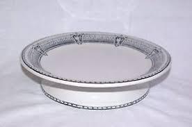 antique till u0026 sons ironstone pedestal serving dish alba 1871 ebay