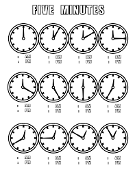file tell time clock 5 mins at coloring pages for kids boys dotcom