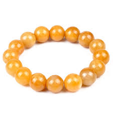 lucky crystal bracelet images Lucky feng shui house chalcedony yellow topaz crystal bracelet jpg