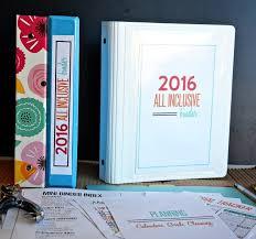 mini all inclusive binder thirty handmade days