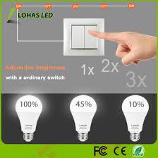switch 3 way led light bulb china 3 way adjust brightness with ordinary switch led light bulb