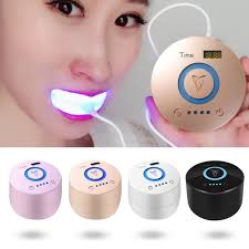 blue light whitening toothbrush cold blue light teeth cleaning machine home use oral cleaning dental