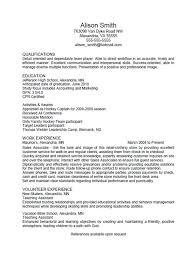 Volunteer Experience Resume Example by Resume Examples Astonishing Top 10 Free Scannable Resume Template
