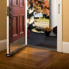 Laminate Flooring At Doorways Duck Brand Double Draft Door Seal Brown 2 Pack Walmart Com