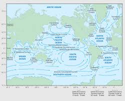 Ocean Currents Map Environmental Health Perspectives U2013 New Link In The Food Chain