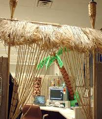 Tiki Home Decor Tiki Cubicle Cubicle Office Cubicles And Decoration